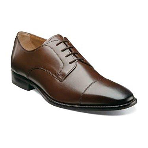 Florsheim Sabato Brown Cap Toe Oxford Leather Dress Shoes