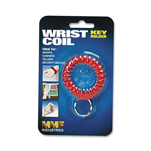 (MMF201450004 - Material : Flexible Coil - STEELMASTER by MMF Industries Wrist Coil with Key Ring - Each)