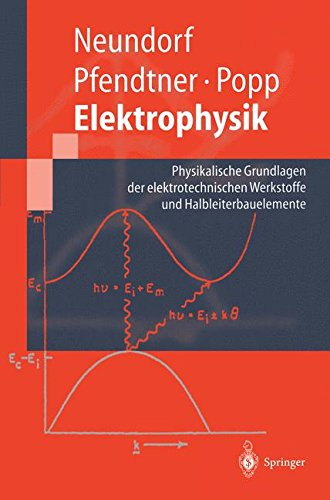 elektrophysik-physikalische-grundlagen-der-elektrotechnischen-werkstoffe-und-halbleiterbauelemente-springer-lehrbuch