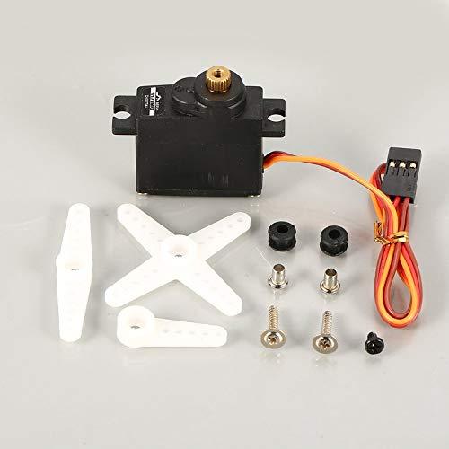 JX PDI-1171MG 4.8V-6V 3,5 kg de par Digital Servo Para RC fijo del ala del aeroplano