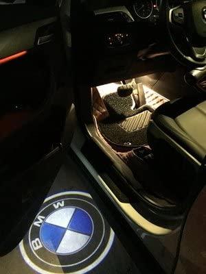 Luces LED para puerta de coche 2 unidades, luz de entrada de luz, proyector de bienvenida Casloyal