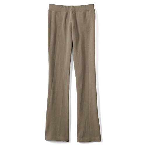 Lands' End Girls Plus Yoga Boot Cut Pants, L, - Boots Kids End Lands