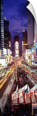 Canvas On Demand Wall Peel Wall Art Print entitled Times Square New York NY (72 Hours New York Times)
