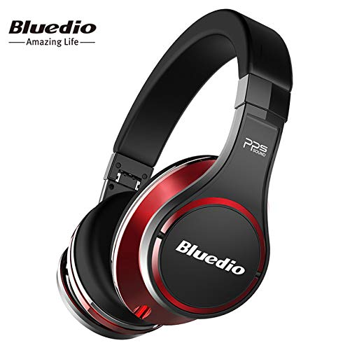Bluedio U(UFO) Over Ear Headphones Wireless High-End 3D Sound Patented 8 Drivers Bluetooth Headset Built in Microphone for Phone