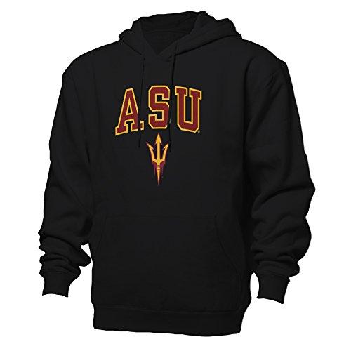 NCAA Arizona State Sun Devils Benchmark Hood, Black, Medium (Ncaa Devils Applique Sun)