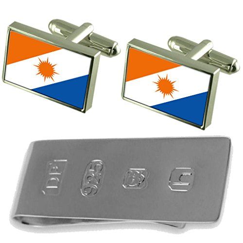 amp; James Tocantins Cufflinks Money Clip Bond Tocantins Flag Flag 6IaUx