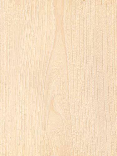Wood Veneer, Birch, White Rotary, 2 x 8, 10 mil Paper Backer