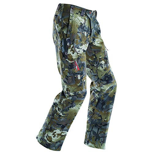 SITKA Men's Hunting Water-Repellent Camo Dakota Mud Pants, Optifade Timber, 38R (Room Spaces Mud Designs Small)