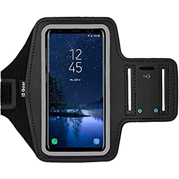 pretty nice 86176 20c1b Amazon.com: Yurbuds Athletic Armband, Black: Cell Phones & Accessories