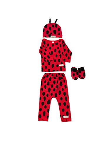 9bc40f8a4 LADYBUG Baby Costume Outfit (6-9 m) Animal Print Funky Baby Clothes ...