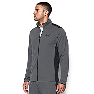 Under Armour Men's Maverick Jacket, Graphite/Black, Large