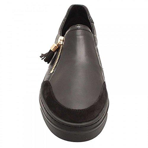 Negro De Para Zapatillas Cuero Mephisto Mujer wzqFHx1XWx