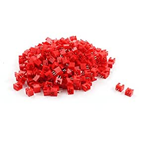 Red Shell 330pcs Alfiler 2,54 mm de paso JST PH Conector macho Plug