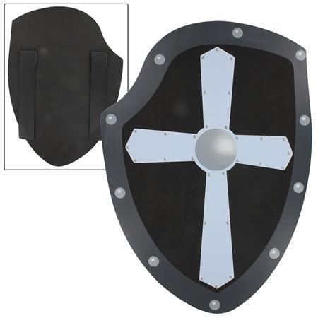 Fearless Soldier's Cross of Iron Foam LARP Warrior's Kite Training Shield (Medieval Foam Larp Shield)