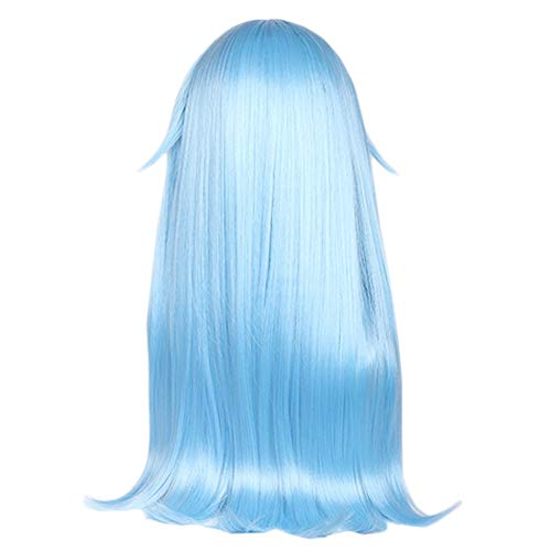 Costume Props Anime Wig That Time I Got Reincarnated As A Slime Cosplay Wig Rimuru Tempest Wig Blue Hair Role Play Party Cosplay Props