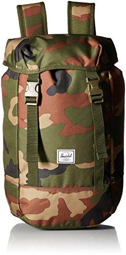 Zaino Hershel Supply eo9X4k5ufW Iona in Tessuto Camouflage, capacità 24 Litri Altezza 49 cm Larghezza 29 cm Peso 0,54 kg