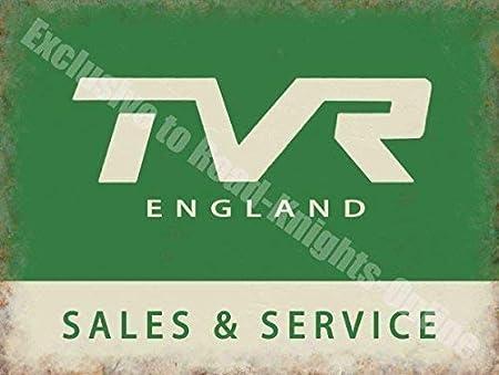 RKO TVR Inglaterra Sales & Service, Vintage Garaje Coche ...
