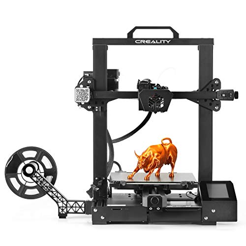 Creality CR-6 SE Upgraded New Version, Leveling-Free Starter FDM 3D Printer, Auto Bed Leveling, Easy Assembly, TMC2209…