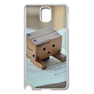 danbo reading book Samsung Galaxy Note 3 Cell Phone Case White 53Go-107255