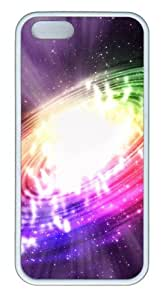 Colorful swirl TPU White new iphone 5S cases for Apple iPhone 5/5S