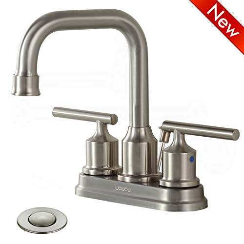 4 inch faucet brushed nickel - 7