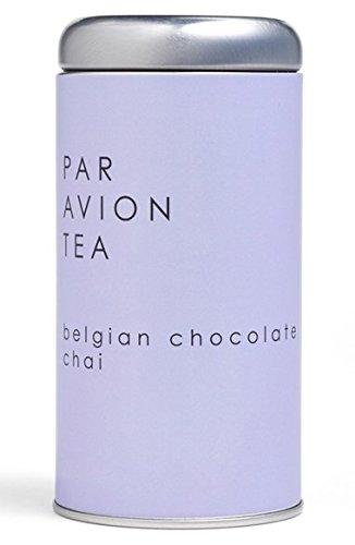 Par Avion Belgian Chocolate Chai Tea Sachets in Artisan Tin