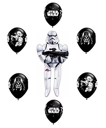 Star Wars Stormtrooper Airwalker Balloon Bouquet