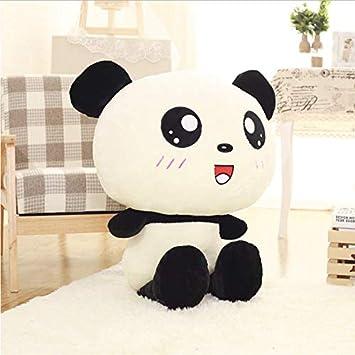 Ahzha Kawaii Grosse Tête Panda En Peluche Jouet En Peluche