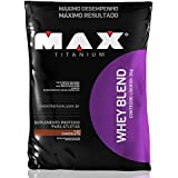 Whey Blend - Refil, Max Titanium, Chocolate, 2000 g