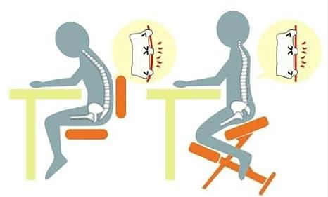 nouvelle arrivee 5a5e3 6b089 sz5cgjmy ® orthopédique à Genoux Ergonomique Posture Assise ...