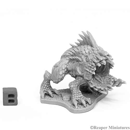 Reaper Miniatures: 44026 - Razormouth Bones Black Fantasy Mini Figure