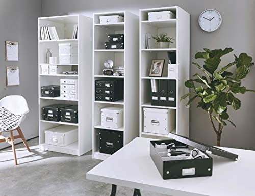 Leitz Drawer Cabinet, 3 Drawers, A4, Click and Store Range 60480095 - Black