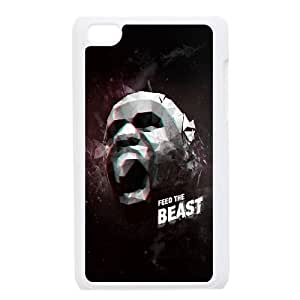iPod Touch 4 Case White Lebron James The Beast LV7161111