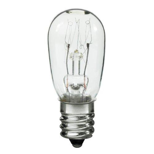 Litetronics L-102 - 6 Watt Candelabra Light Bulb - S6 Indicator - Clear - 7,000 Life Hours - 35 Lumens - 130 Volt