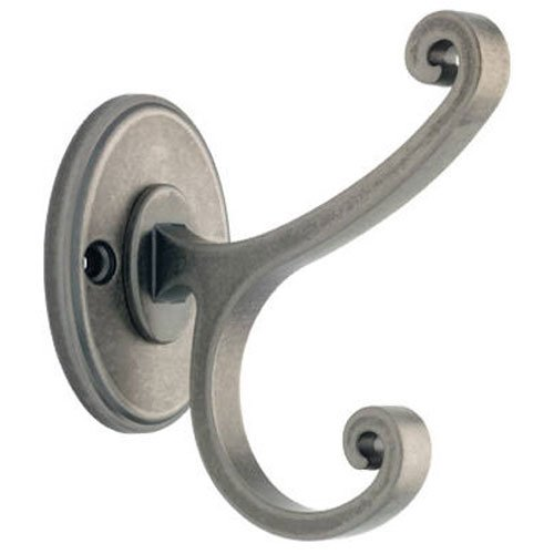 Scroll Coat - Liberty B42505Z-AI-C Casual Scroll Design Coat and Hat Hook, Antique Iron