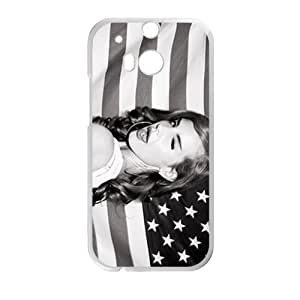 Happy American Girl Fashion Comstom Plastic case cover For HTC One M8