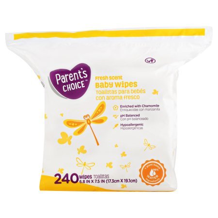 Amazon.com: PACK OF 8 - Parents Choice Fresh Scent Baby Wipes (240 count): Health & Personal Care