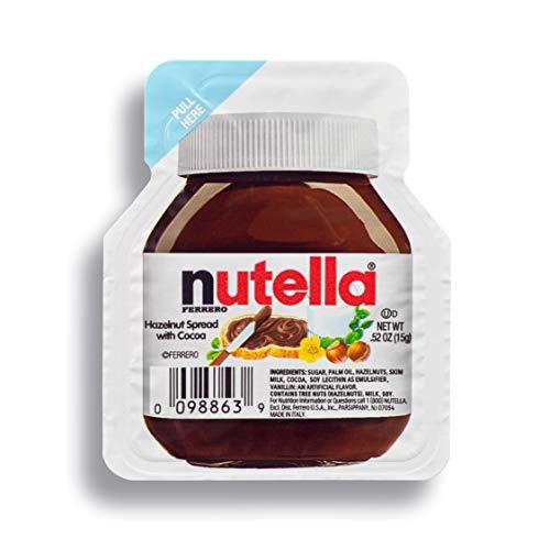 Ferrero Nutella Hazelnut Spread, Single Serve Mini Cups.52 oz. each, 120 Count