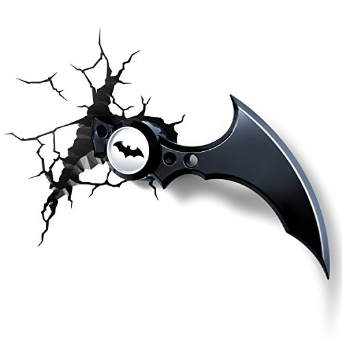 3DLightFX Warner Bros DC Comics Batarang 3D Deco Light]()