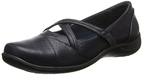 Image of Easy Street Women's Marcie Mary Jane Flat,New Navy,7 M US