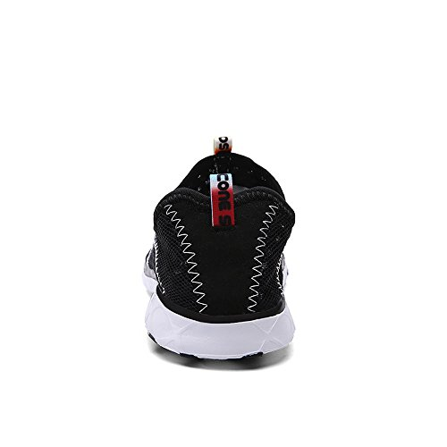 Feetmat Breathable Walking Shoes Women's Casual Black Mesh Slip Water On wwqSTRnr