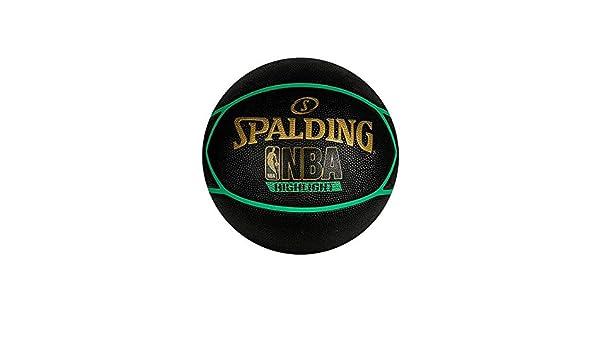 Spalding Balon de Baloncesto Highlight Verde RBR tamaño 29.5 ...