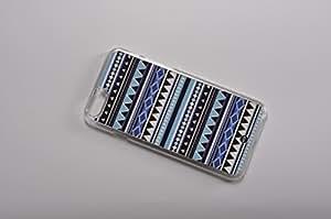 FBA 2 regalo de Navidad * case por iphone 6 / 6s Aztec blue * transparent funda