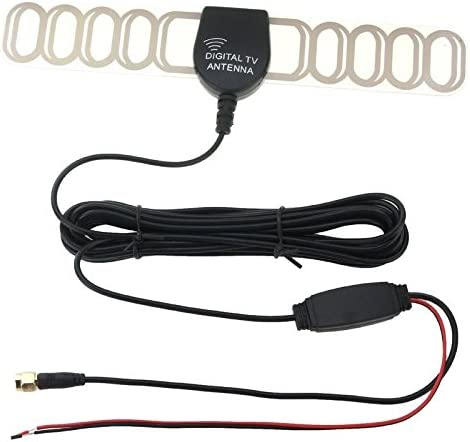 High-Tech Place - Antena TNT amplificada para coche (36 dBi ...