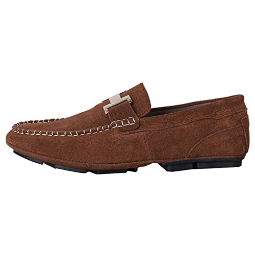 LEADER pour Mocassins Marron homme WALK XgHUWg