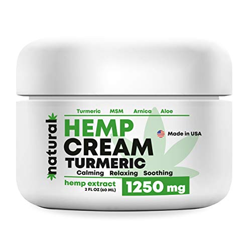 Organic Hemp Pain Relief Extract 1250 Mg, Made in USA, Non-GMO, Natural Hemp Oil for Joint Pain