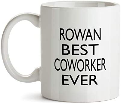 Rowan Best Co Worker Ever Gift Mug