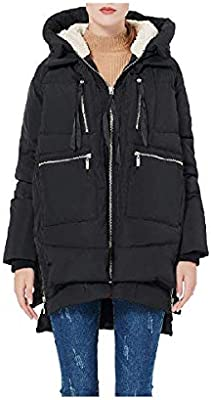 Fiere Women's Zip-Up Army Classics Thick Premium Winter Coat
