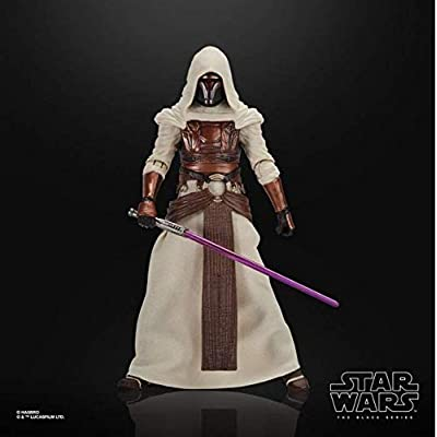 Star Wars Black Series Gaming Greats Jedi Knight Revan (Gamestop Exclusive) 6 Inch Action Figure: Toys & Games