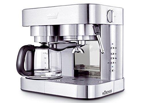 KOENIG B03110 Independiente Semi-automática - Cafetera ...